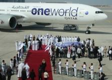 (2013-10-29) Qatar Airways optages i Oneworld