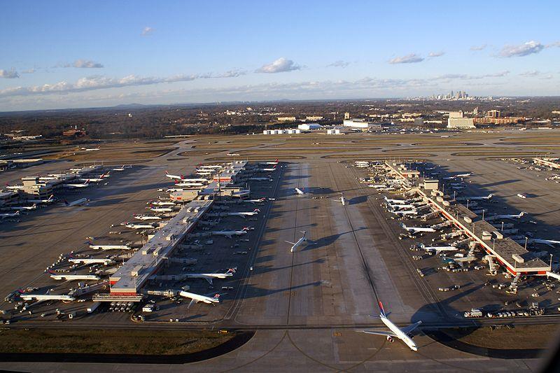 Atlanta Hartsfield-Jackson lufthavnen.