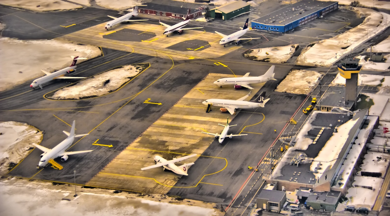 Bonrholms Lufthavn (Arkivfoto)