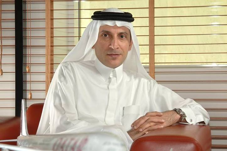 Koncernchef Akbar al-Baker fra Qatar Airways. (Foto Qatar Airways)