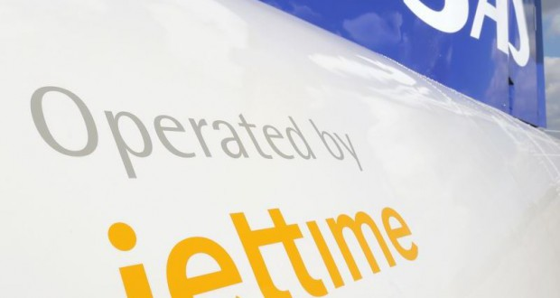Jet Time opererer i dag otte ATR72-fly for SAS. Foto: Andreas Krog.