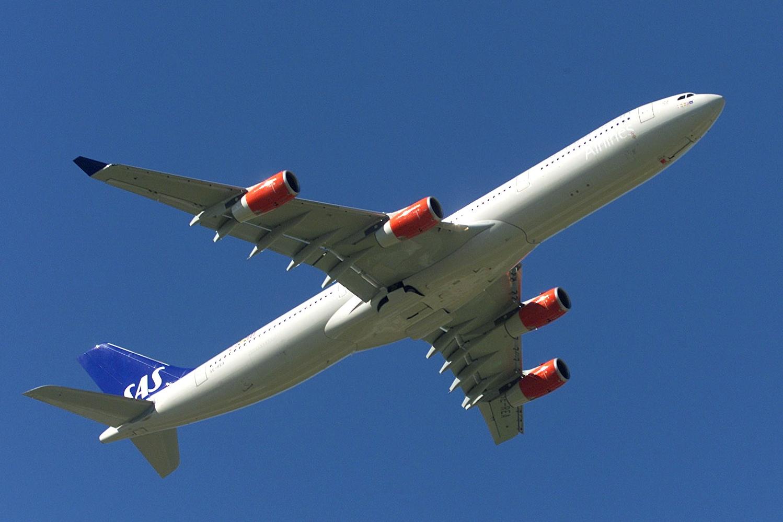 Airbus A340-300 (Foto: SAS)