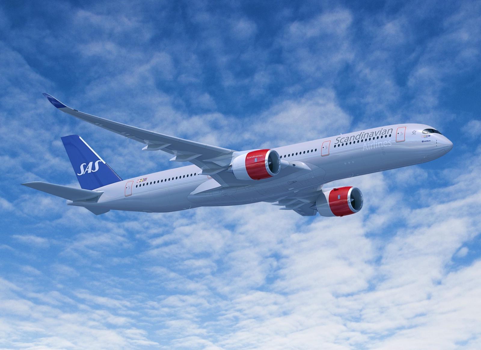 SAS A350-900 XWB (Computergrafik: Airbus)