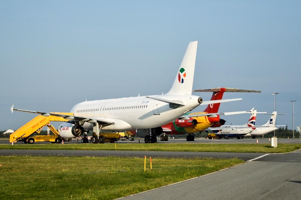 DAT Gruppen beskæftiger blandt andet A320 og MD83-fly.