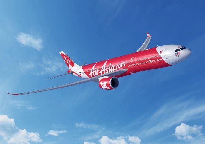 AirAsia X – A330-900neo (Computergrafik: FIXION – GWLNSO)