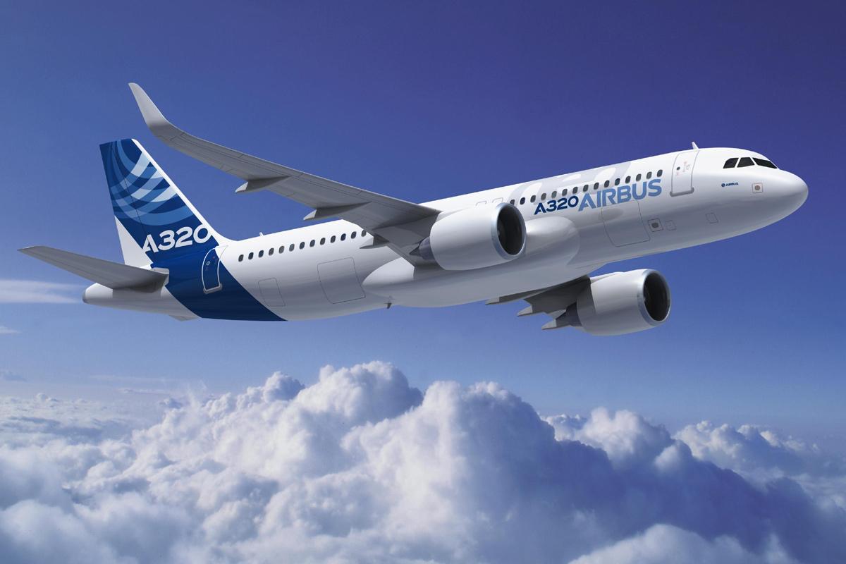Airbus A320-200neo (Computergrafik: Fixion)