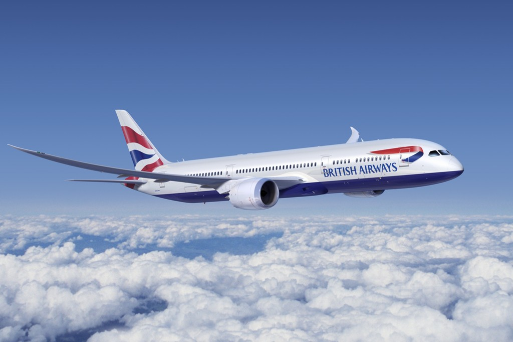 British Airways Boeing 787-8 Dreamliner. (Foto: British Airways )