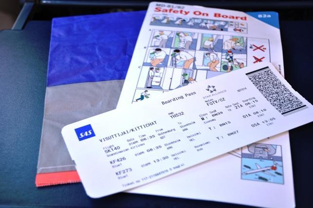 refundering af flybillet