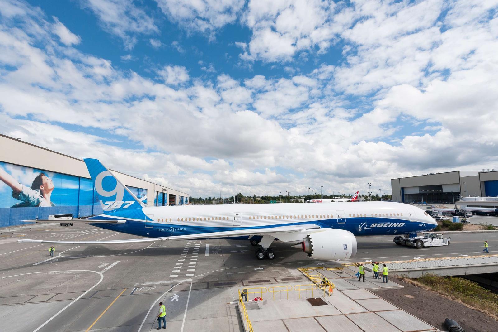 Boeing 787-9 Dreamliner. (Foto: Boeing)
