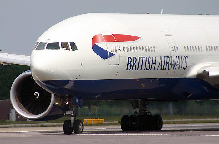 British Airways – Boeing 777-200.