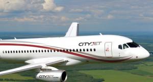 CityJet Sukhoi Super Jet