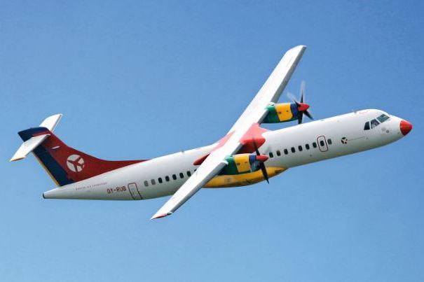 ATR72-200 fra Danish Air Transport. (Foto: Danish Air Transport)