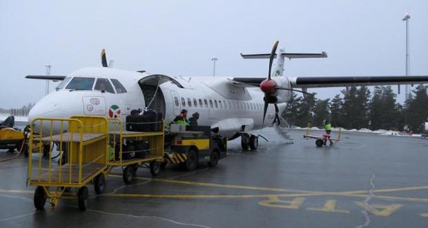 DAT-fly påkørte banelys i Karup Lufthavn - CHECK-IN.dk