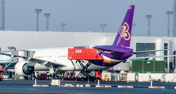 thai faar samme flytype paa alle skandinaviske ruter