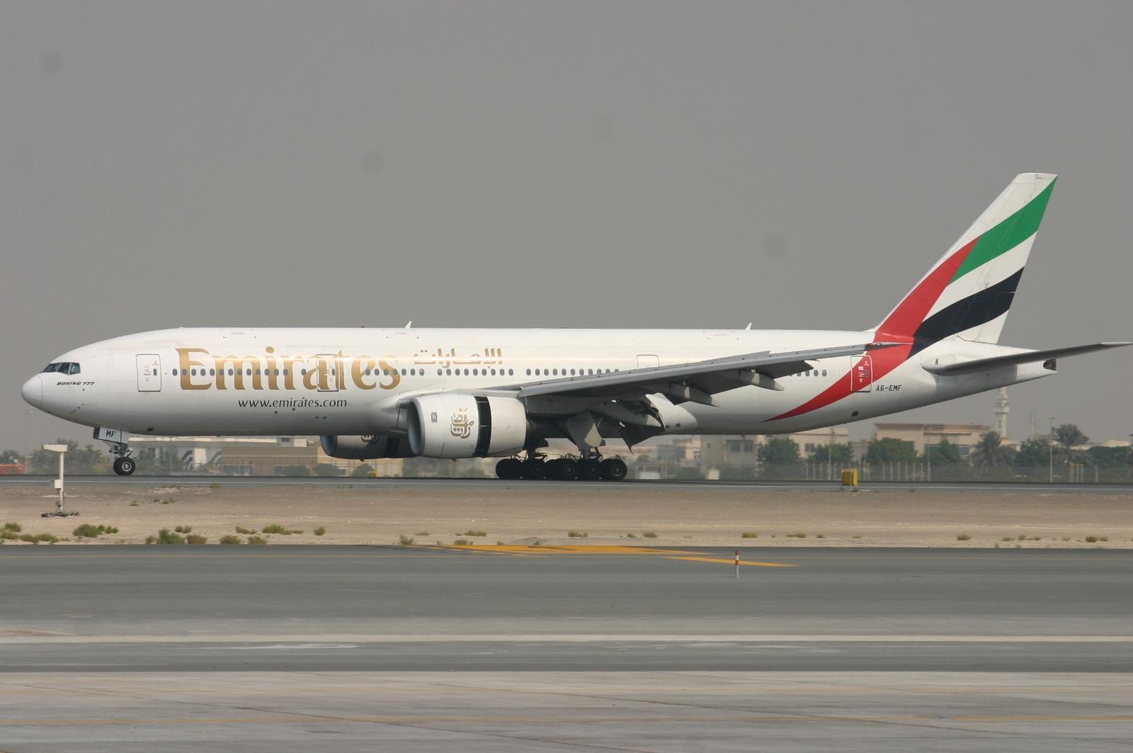 Emirates Boeing 777-200. Foto: Emirates.