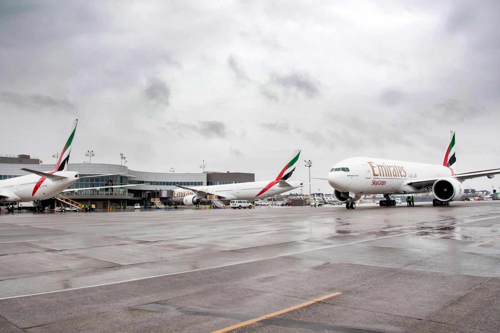Emirates har kun Boeing 777 og Airbus A380 i flåden.