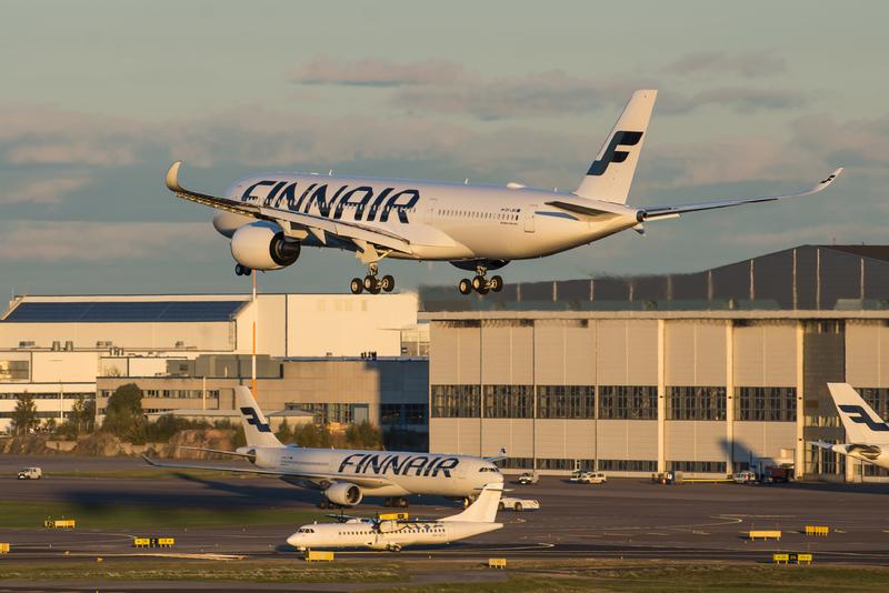 Finnair A350-900 XWB.