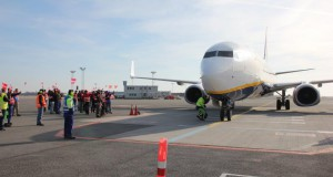 Ryanair Boeing 737-800 i Københavns Lufthavn.