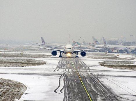 Loondon Heathrow Airport.