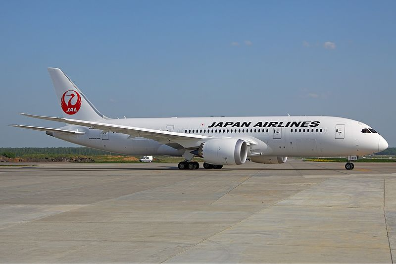 Boeing 787-9 Dreamliner fra Japan Airlines.