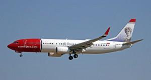 Norwegian planlægger at anvende Boeing 737-800 mellemdistancefly på de to nye ruter.