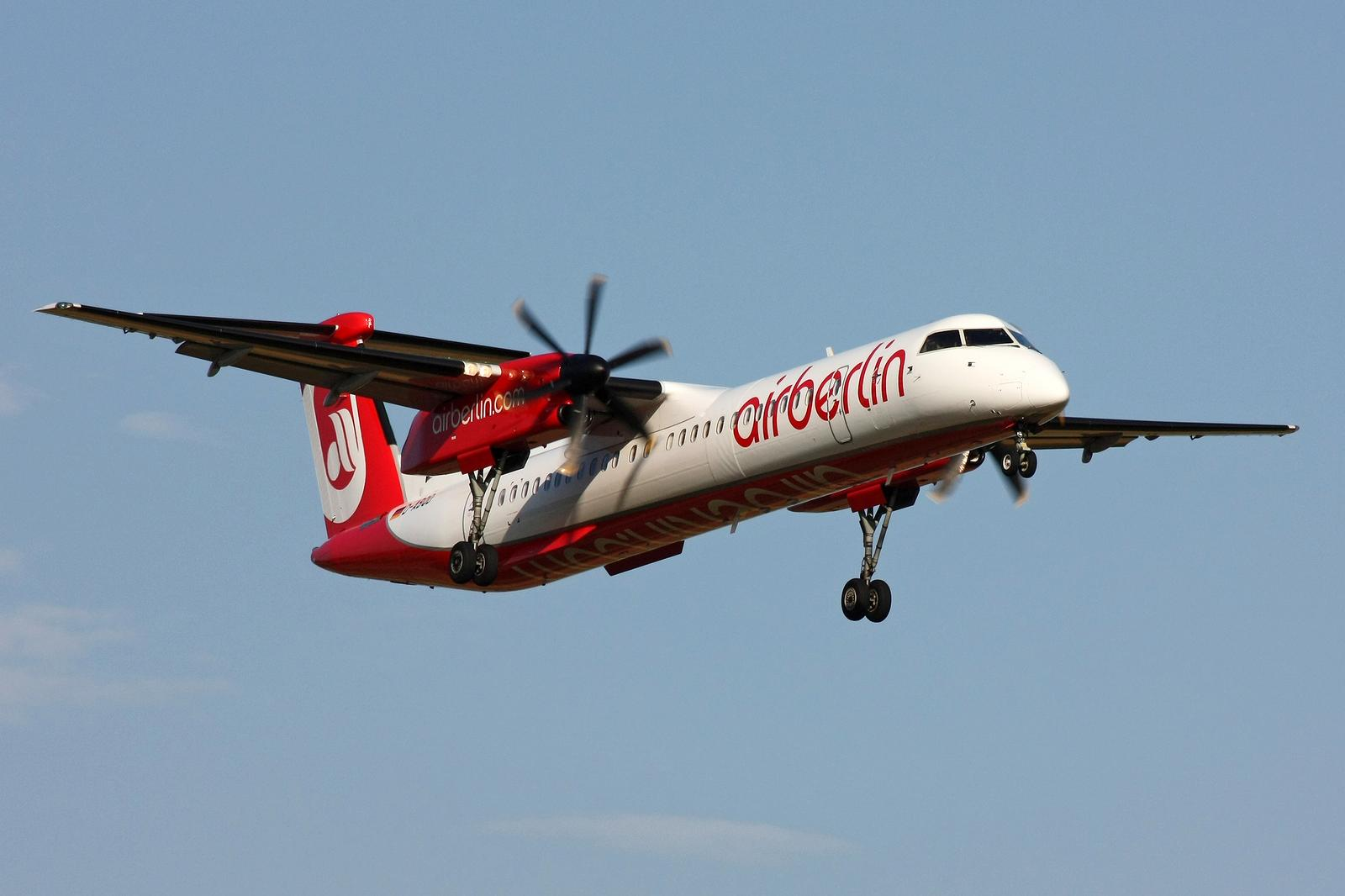 Bombardier Q400 fra airberlin.