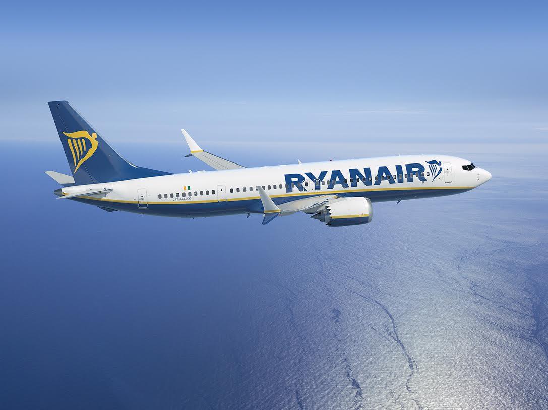 Ryanair Boeing 737MAX 200. (Foto: Boeing)
