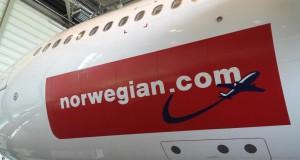 A340-300 fly fra Hifly har flere gange hjulpet Norwegian.