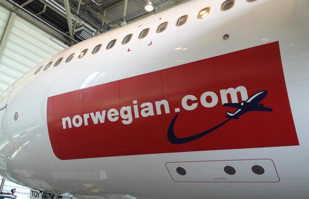 A340-300 fra Hifly har flere gange hjulpet Norwegian.