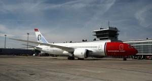 Norwegians Boeing 787-8 Dreamliner i Købehavns Lufthavn.