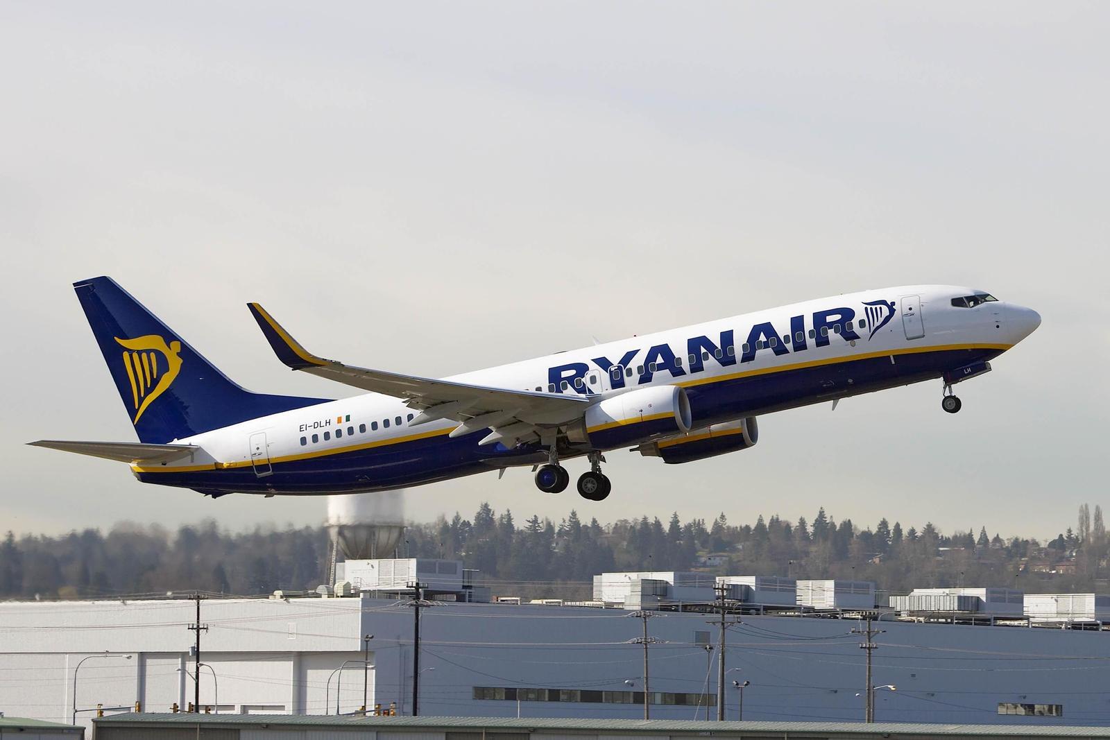 Ryanair Boeing 737-800.  (Foto: Ryanair/PR)