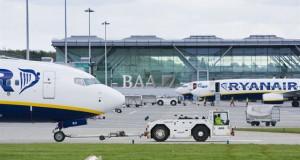 London Stansted vil især blive ramt af Ryanairs nedskæringer som følge af briternes EU-exit.