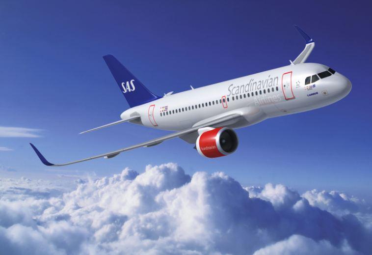 SAS A320neo (Foto: Airbus)