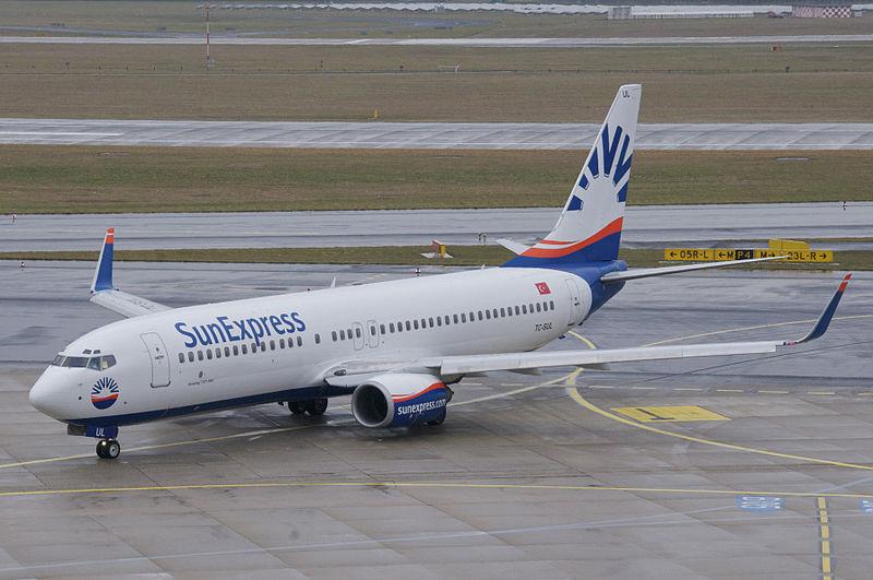 Boeing 737-800 fra SunExpress.