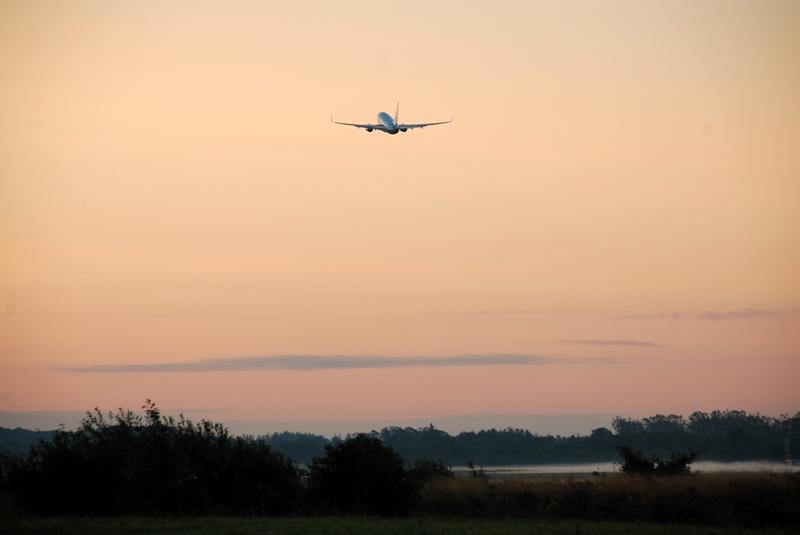 Morgenstemning i Billund Lufthavn. (Foto: Billund Airport)