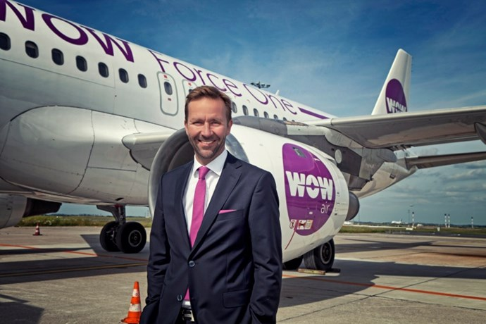Skuli Mogensen, administrerende direktør i WOW air.