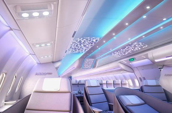 Airspace by Airbus. Ny kabine i A330-300neo. (Foto: Airbus)