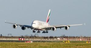 Emirates' rute mellem København og Dubai er den eneste skandinaviske Airbus A380-rute. (Foto: Morten Lund Tiirikainen).