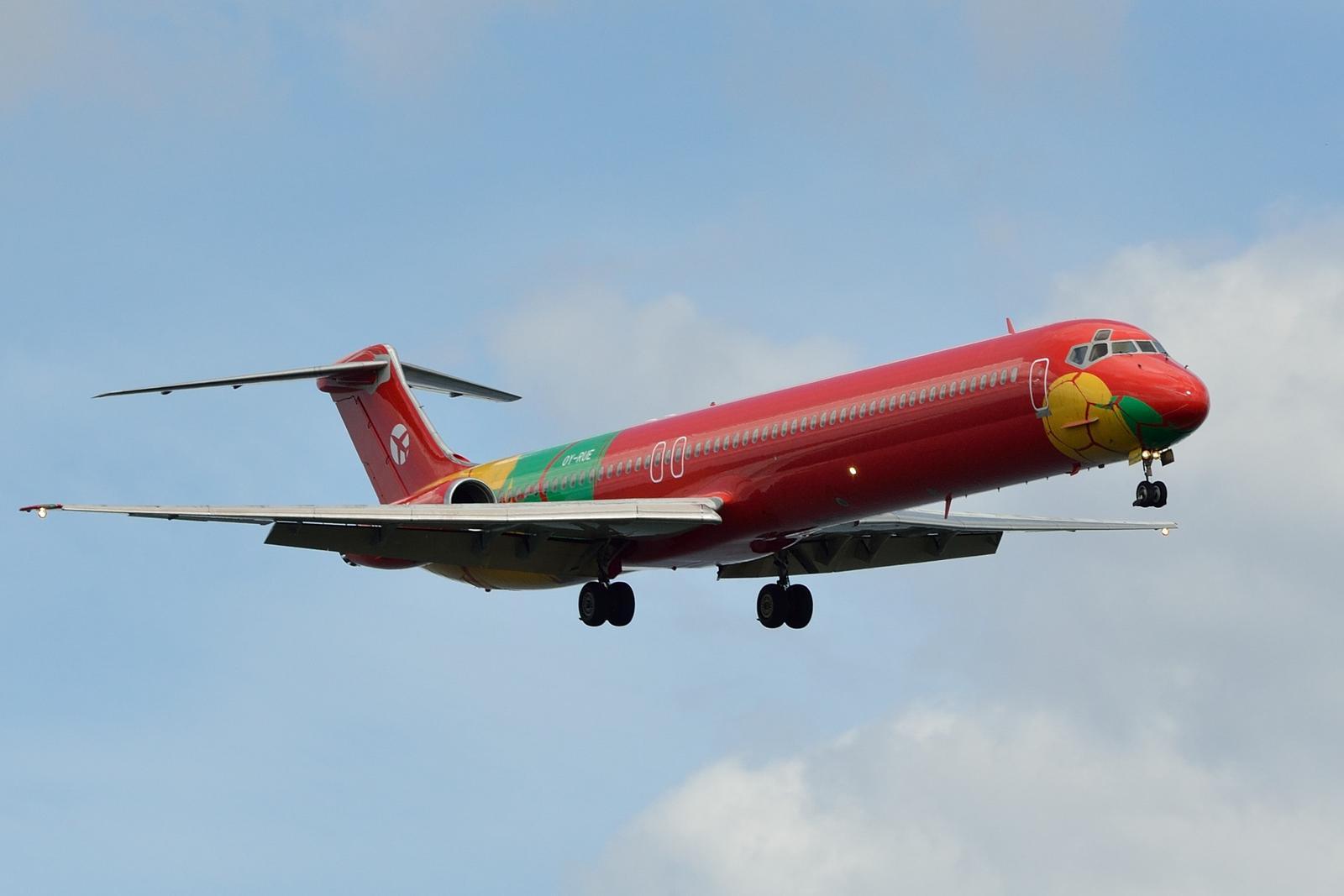 MD-83 fra DAT (Foto: Morten Lund Madsen)