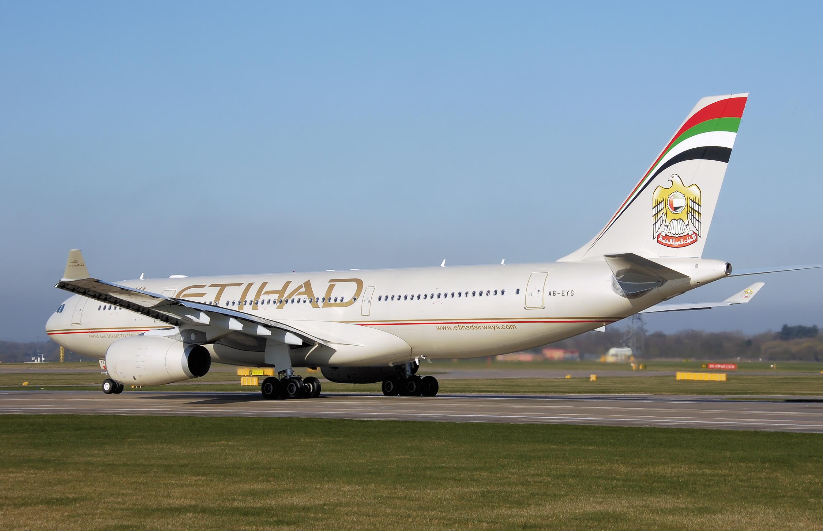 Etihad Airways A330-200. (Foto: Arpingstone/Wikipedia)