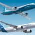 Boeing 737 MAX og Airbus A320neo (Fotografik: Aviation Week)