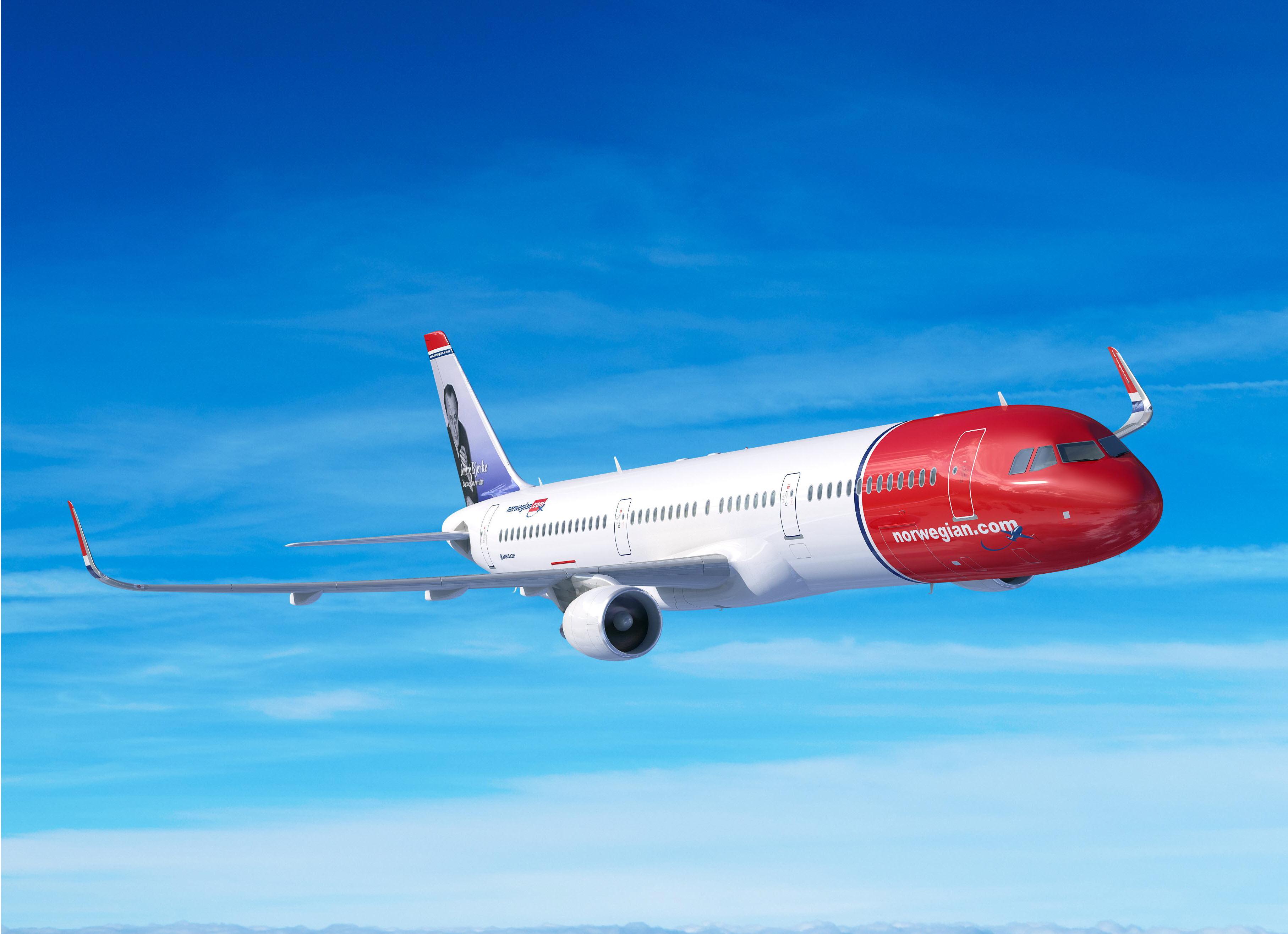 Norwegian har konverteret en ordre på 30 Airbus A320neo til 30 A321LR. (Foto: Airbus)