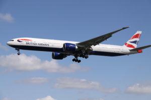 Boeing 777-300 fra British Airways. (Foto: Aeroprints.com)