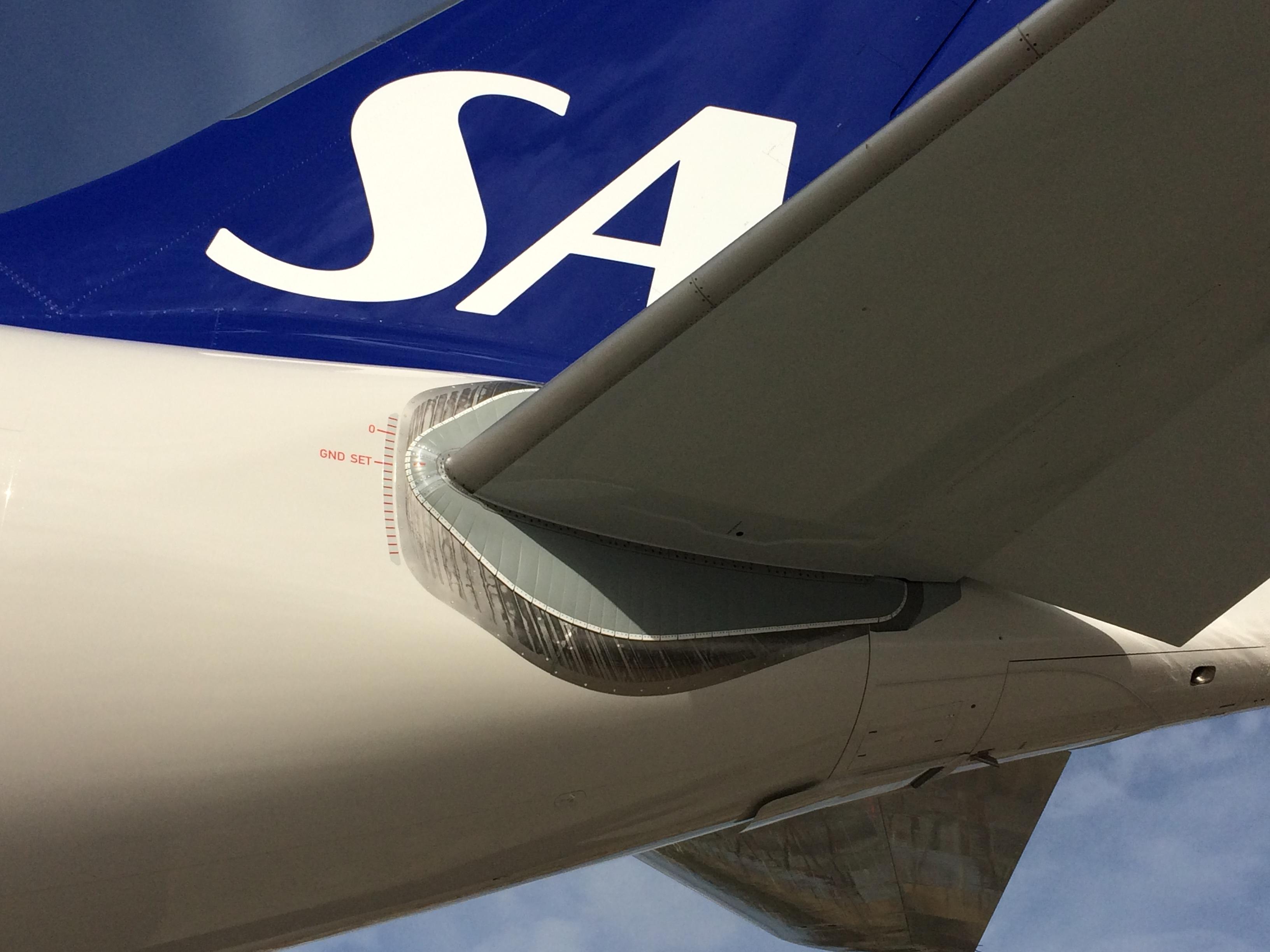 Airbus A330-300 fra SAS (Foto: Ole Kirchert Christensen)
