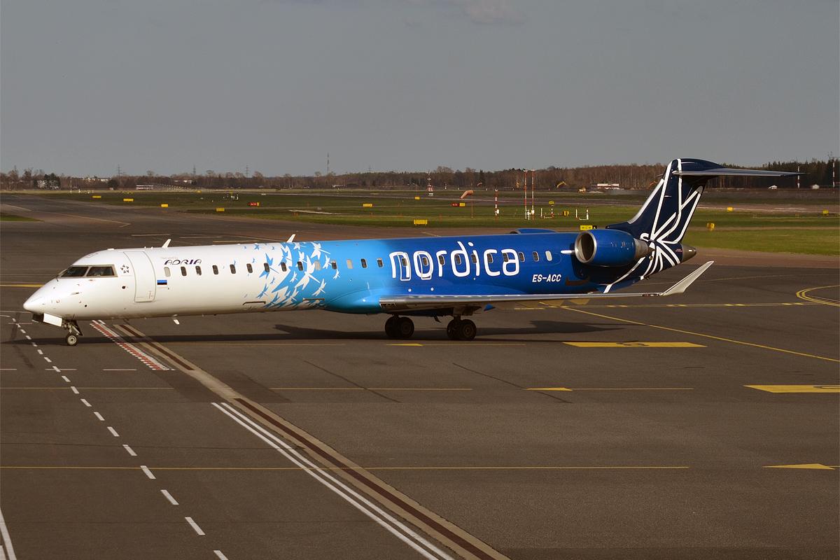 Nordica CRJ700 (Foto: Anna Zvereva)