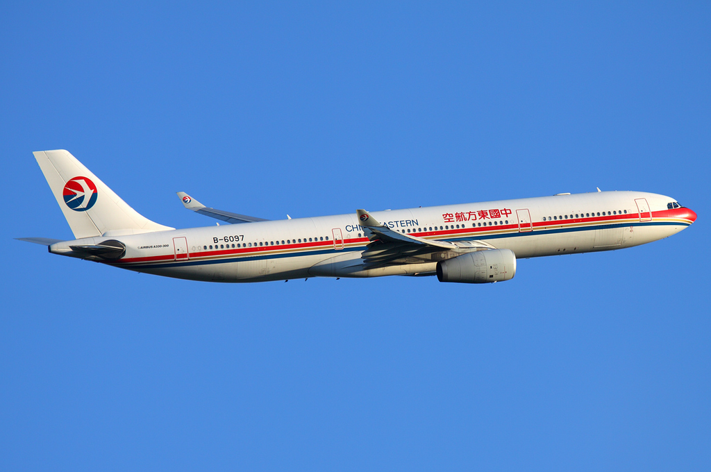 Airbus A330-300 fra China Eastern Airlines. (Foto: Sergey Kustov)