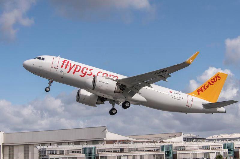 Airbus A320neo fra Pegasus Airlines. (Foto: C. Brinkmann / Airbus)