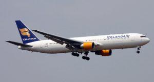 Icelandair Boeing 767-300.