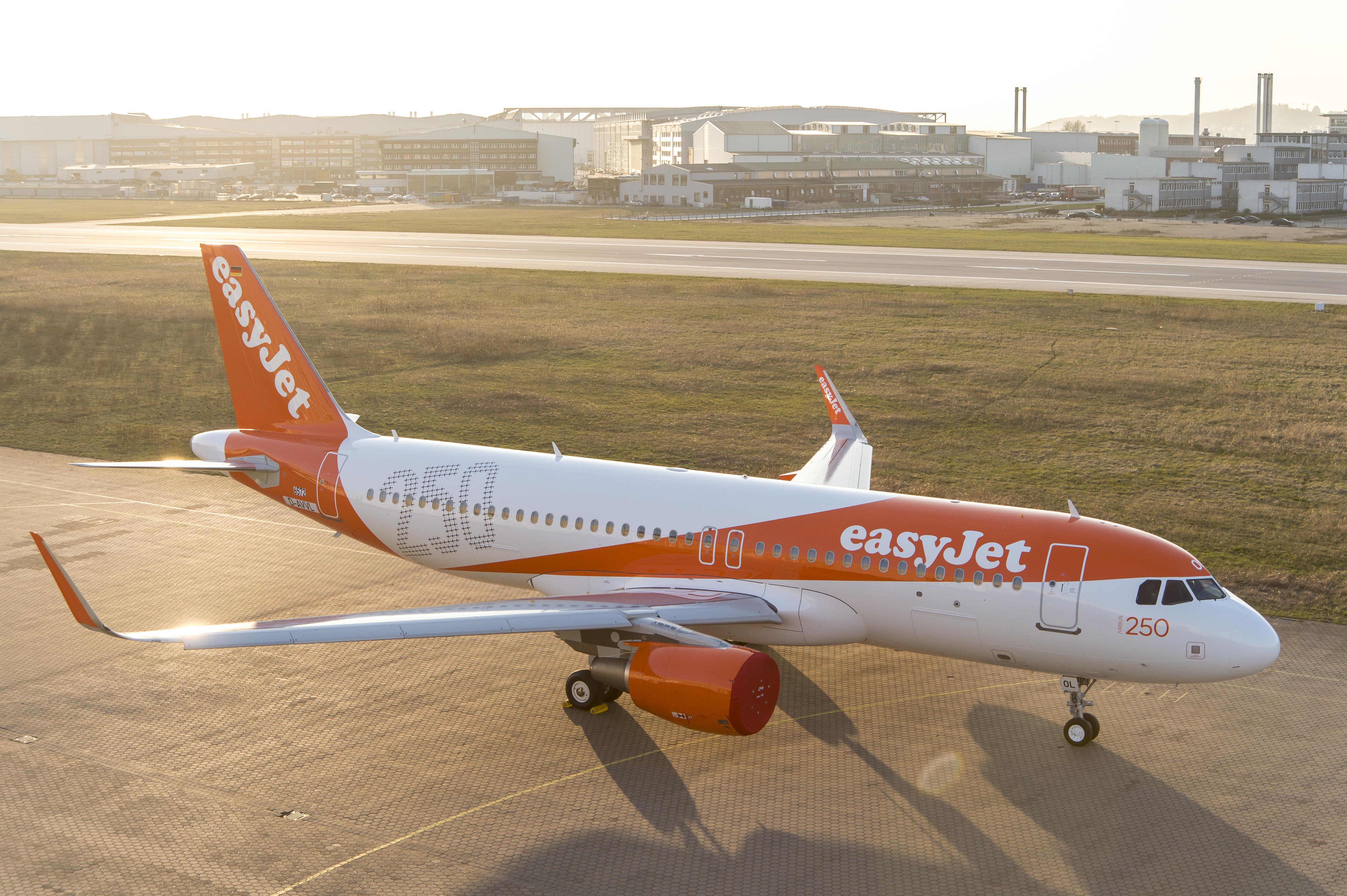 EasyJet Airbus A320. (Foto: easyJet)