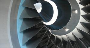 IAE V2500-motor på A320-fly.